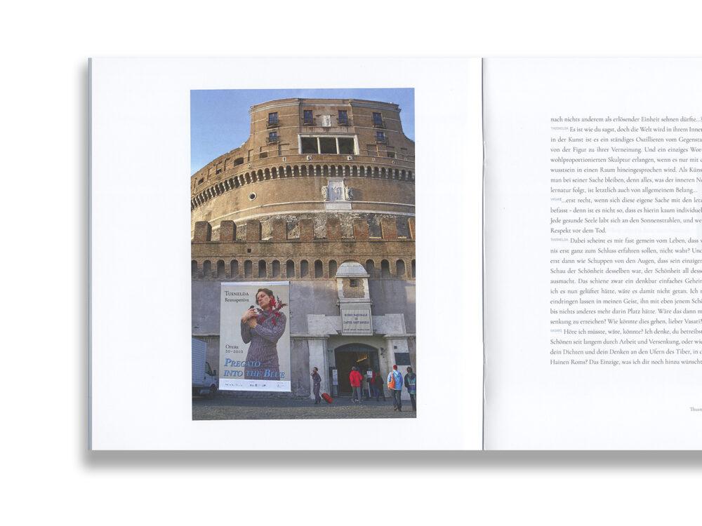 Thusnelda in Rom Eine Verwandlung Elisabeth Bruegger Krautin Verlag
